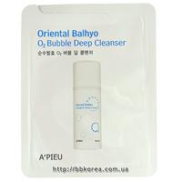 Пробник A'PIEU Oriental Balhyo O2 Bubble Deep Cleanser
