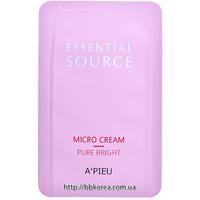 Пробник A'pieu Essential Source Pure Bright Micro Cream
