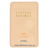 Пробник A'pieu Essential Source Snail Vital Cream