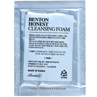 Пробник BENTON Honest Cleansing Foam