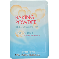 Пробник Etude House Baking powder B.B. deep cleansing foam