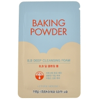 Пробник Etude House Baking powder B.B. deep cleansing foam New