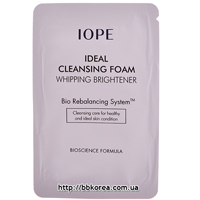 Пробник IOPE Ideal Cleansing Foam Whipping Brightener