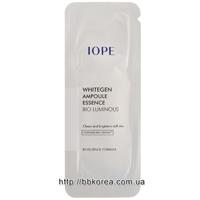 Пробник Iope Whitegen ampoule essence bio luminous
