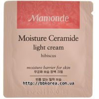 Пробник Mamonde Moisture Ceramide Light Cream