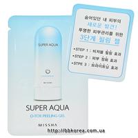 Пробник MISSHA Super Aqua D-TOX Peeling Gel