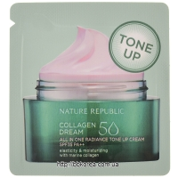 Пробник Nature Republic Collagen Dream 50 All In One Radiance Tone Up Cream SPF35 PA++