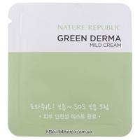 Пробник Nature Republic Green Derma Mild Cream