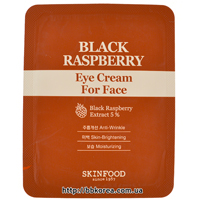 Пробник SKINFOOD Black Raspberry Eye Cream For Face