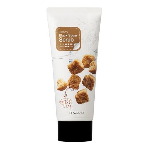 THE FACE SHOP Smart peeling honey black sugar scrub