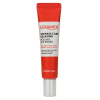 FARM STAY Ceramide Wrinkle Care Relaxing Rolling Eye Serum