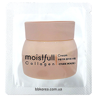 Пробник Etude House moistfull Collagen cream