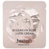Пробник Heimish Bulgarian rose satin cream x10шт