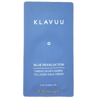 Пробник Klavuu Blue Pearlsation Oneday 8cups Marine Collagen Aqua Cream x10шт