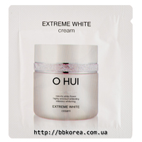 Пробник OHUI Extrem White Cream x10шт