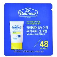 Пробник THE FACE SHOP Dr.Belmeur UV Derma Mineral Sun Cream SPF48 PA+++