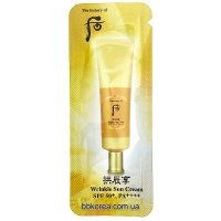 Пробник The History Of Whoo Wrinkle Sun Cream SPF 50+  PA++++ x10шт