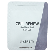 Пробник The Saem Cell Renew BIO micro peel soft Gel