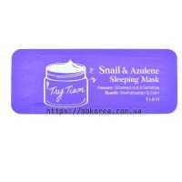 Пробник TIAM Snail & Azulene Sleeping Mask