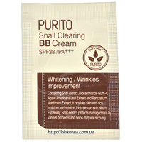 Пробник PURITO Snail Clearing BB Cream SPF38/PA+++