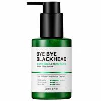 SOME BY MI Bye Bye Blackhead 30 Days Miracle Green Tea Tox Bubble Cleanser - кислородная пенка для умывания