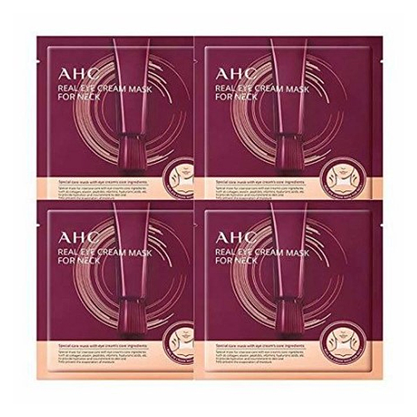 AHC Real Eye Cream Mask For Neck