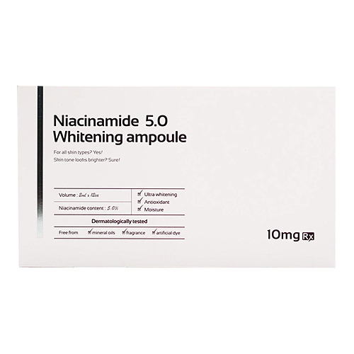 Aida Rx Niacinamide 5.0 Whitening Ampoule - ампульная сыворотка от морщин на лице