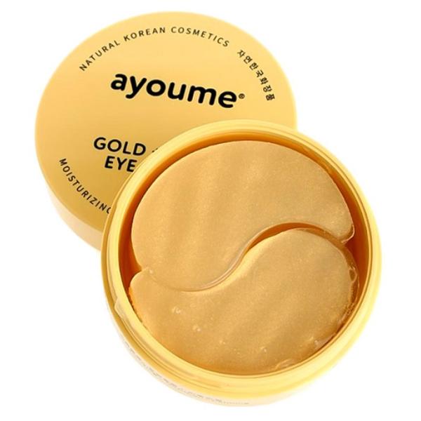AYOUME Eye Patch Gold+Snail - гидрогелевые патчи под глаза корейские