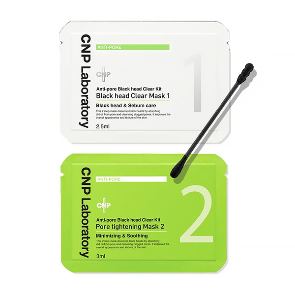 CNP LABORATORY Anti Pore Black Head Clear Kit