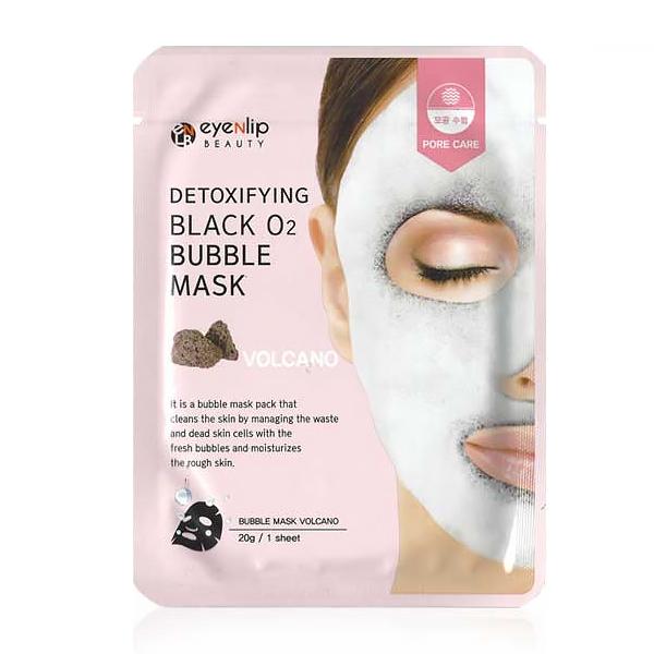 EYENLIP Detoxifying Black O2 Bubble Mask Volcano