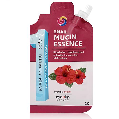 EYENLIP Snail Mucin Essence - омолаживающая эссенция для лица с экстрактом улитки