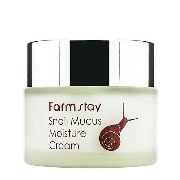 Farmstay Snail Mucus Moisture Cream - улиточный увлажняющий крем для лица