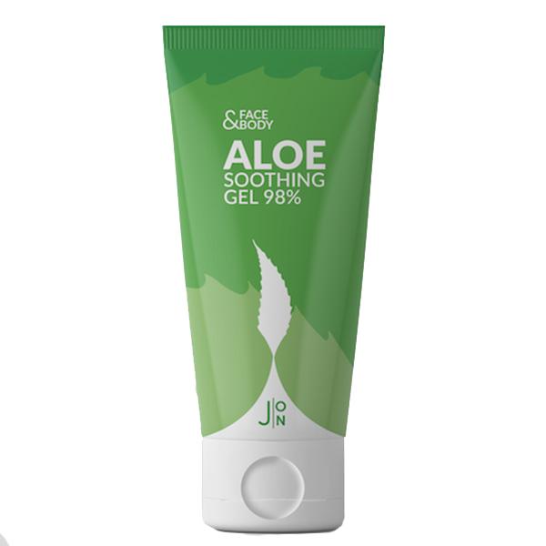 J:ON Face & Body Aloe Soothing Gel 98% - гель с алоэ для лица