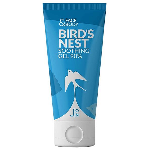 J:ON Face & Body Bird's Nest Soothing Gel 90% - увлажняющий гель для лица