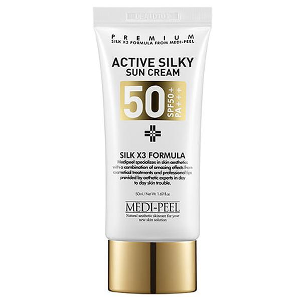 MEDI-PEEL Active Silky Sun Cream SPF50+ PA+++