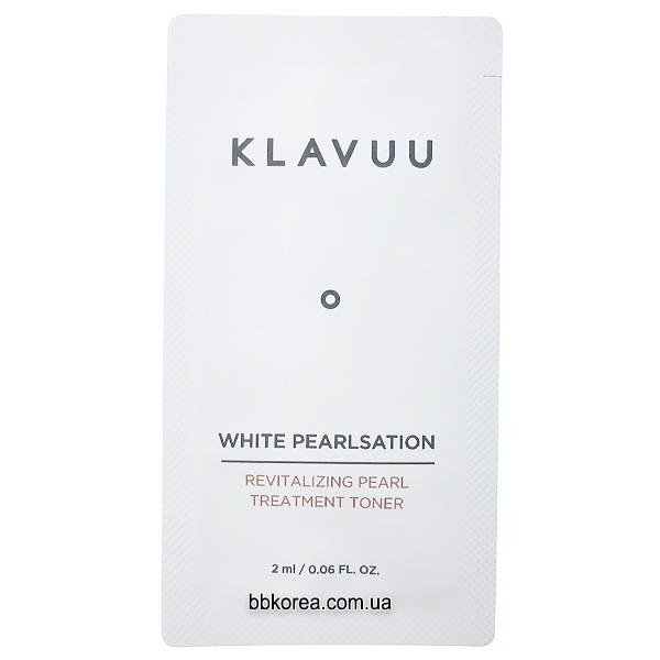 Пробник Klavuu White Pearlsation Revitalizing Pearl Treatment Toner x10шт