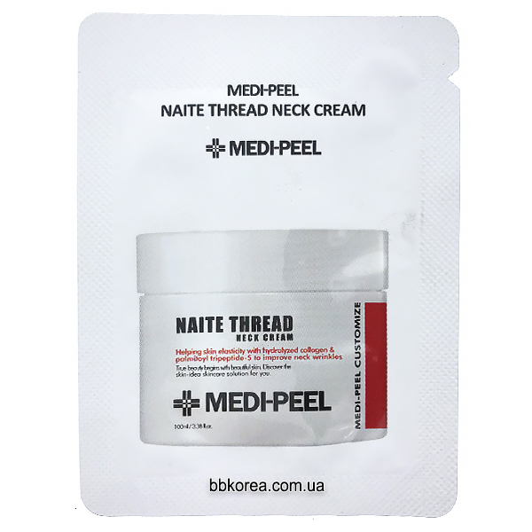 Пробник MEDI-PEEL Naite Thread Neck Cream x10шт