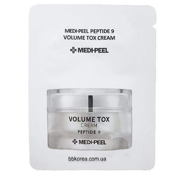 Пробник MEDI-PEEL Peptide 9 Volume Tox Cream x10шт - антивозрастной крем для лица