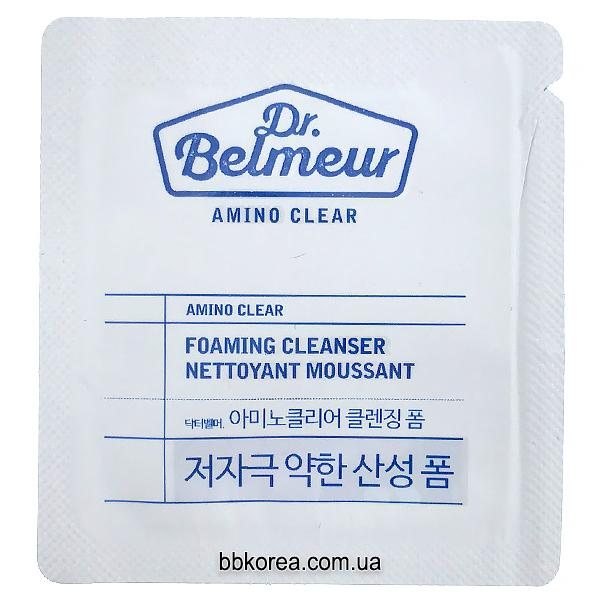 Пробник THE FACE SHOP Dr.Belmeur Amino Clear Foaming Cleanser x10шт