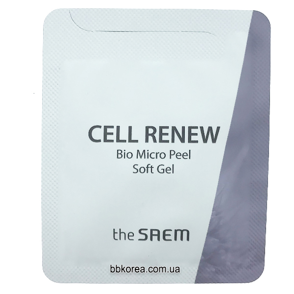 Пробник The Saem Cell Renew BIO micro peel soft Gel