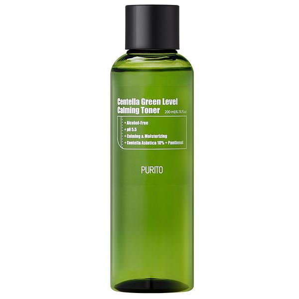 PURITO Centella Green Level Calming Toner - увлажняющий тонер для лица
