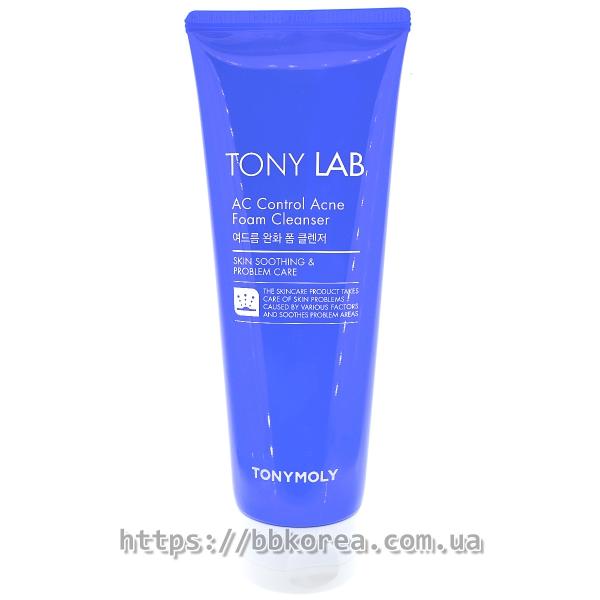 TONYMOLY Tony Lab AC Control Acne Foam Cleanser - пенка для проблемной кожи